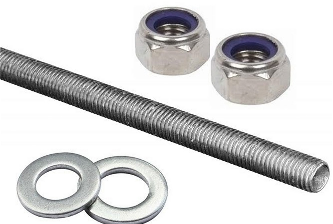 Threaded rod,nuts, washers